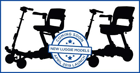 New mobility scooter launch in april 2019