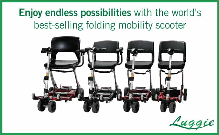 lightweight mobility scooter