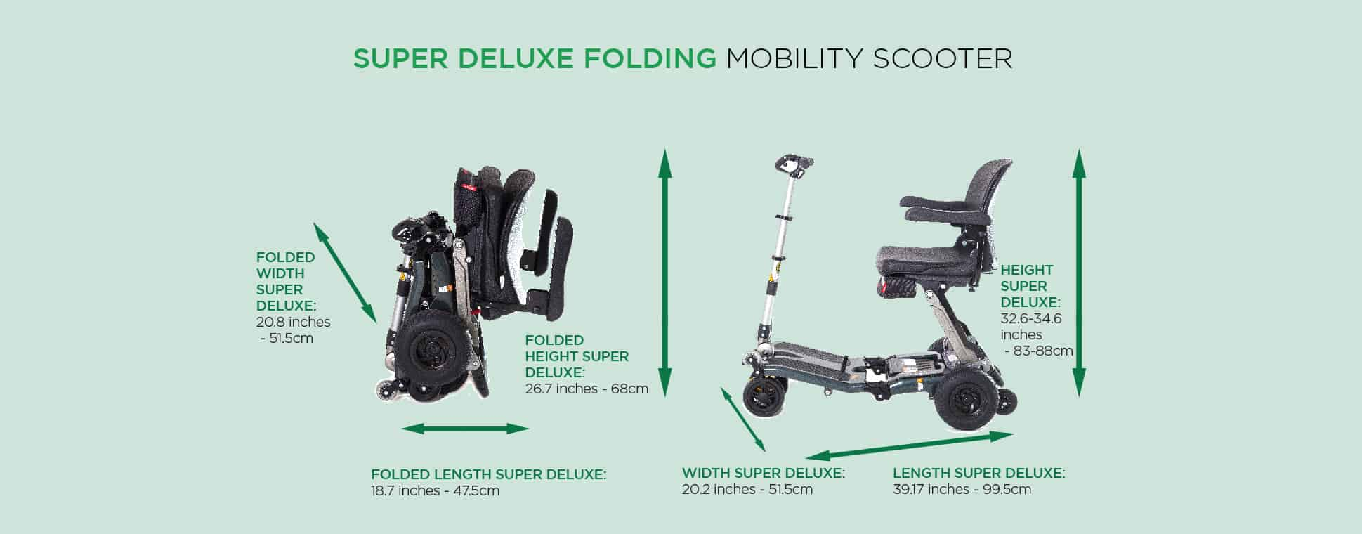 Super deluxe Mobility scooter