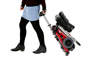 Eco folding mobility scooter