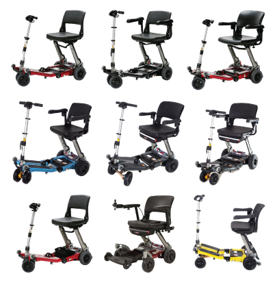 Luggie Mobility Scooter Range